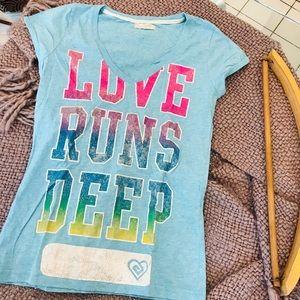 NEW Love Runs Deep T-Shirt